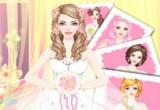 لعبة ازياء العروسة في ليلة الزفاف