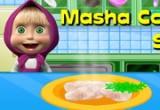 لعبة مدرسة طبخ ماشا