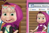 لعبة صور ماشا علي الفيسبوك