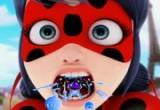 لعبة علاج اسنان وحنجرة الخنفساء