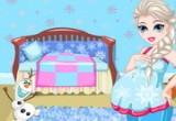 لعبة رعاية ملكة الثلج السا الحامل