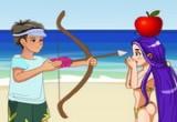 لعبة تعذيب باربي علي شاطئ البحر