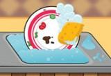 لعبه غسل الصحون