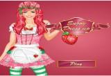 لعبة تلبيس عاشقة الفراولة