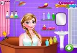 لعبة استحمام انا