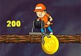لعبة جمع النقود والذهب