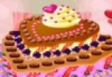 لعبة ديكو  الكعكة راس قلب