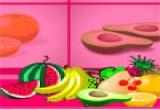 لعبة ذاكرة الفاكهة المجنونة الجميلة