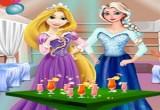 لعبة حفلة السا وربانزل