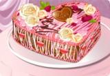 لعبة طبخ كيكة عيد الحب 2014