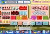 لعبة تسوق في السوق التجاري