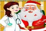 لعبة علاج عيون بابا نويل