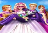 لعبة زفاف سوبر باربي