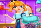 لعبة تصميم ديكور حقائب البنات