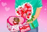 لعبة تقديم الهدية لزوجتك